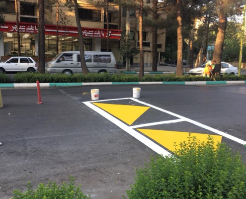 رنگ های ترافیکی چوبین رنگ زاگرس
